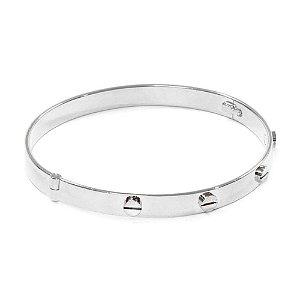 Bracelete Sierra Ródio Branco