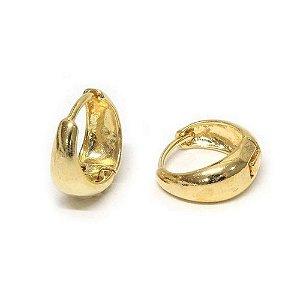 Brinco Argola Basic G Dourado