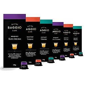 60 Cápsulas Para Cafeteira Nespresso – Baggio Café Gourmet – 6 caixas
