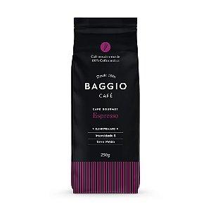 Baggio Café Gourmet Espresso Torrado e Moído 250g