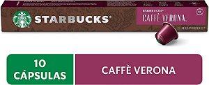 Café em Cápsula, Starbucks, Nespresso, Caffè Verona, 10 Cápsulas
