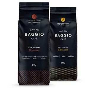 Café Em Pó Baggio - 2 Pacotes - 500g - Café Gourmet Arábica Moído