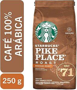 Café Torrado e Moído Starbucks Pike Place Roast 250g