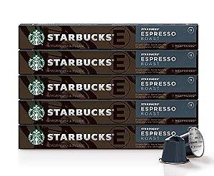 Café Starbucks em Cápsulas Nespresso, Roast Espresso - 50 cápsulas