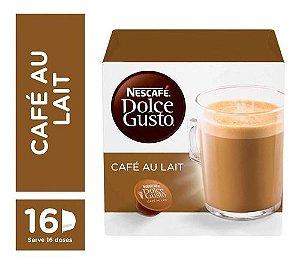 Capsula De Café Dolce Gusto Au Lait 16 Unid