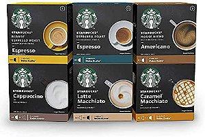 Kit de Cafés e Lattes Starbucks by Nescafé Dolce Gusto - 72 cápsulas
