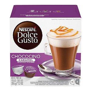 Capsulas Dolce Gusto Nescafé Chococino Caramel 16 Unidades