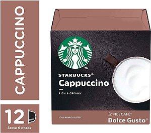 Cápsulas Starbucks Dolce Gusto Cappuccino 12 Unidades