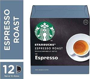 Cápsulas Starbucks Dolce Gusto Espresso Roast 12 Unidades