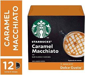 Cápsulas Starbucks Dolce Gusto Caramel Machiato 12 Unidades