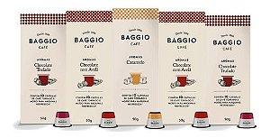 Cápsulas Café Baggio Para Cafeteira Nespresso 50 Unidades