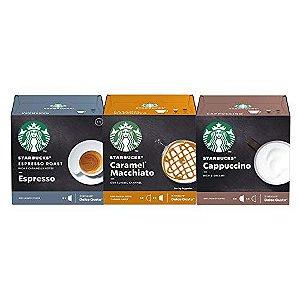 36 Cápsulas Dolce Gusto Starbucks – 3 Caixas - Degustação