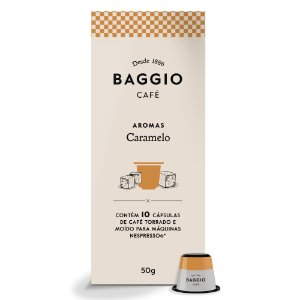Cápsulas de Café Baggio Caramelo 10 Unid