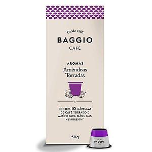 Cápsulas de Café Baggio Amêndoas Torradas 10 Unid