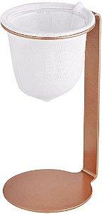 Mini Coador de Café Pressca - Cobre