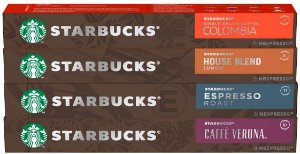 40 Cápsulas Starbucks Nespresso - Degustação Café - Cápsula Alumínio