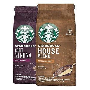 Café Em Pó Starbucks, 100% Arábica, 2 Pacotes, 500G