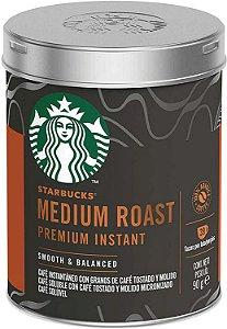 Café Solúvel Starbucks Medium Roast - Lata 90g