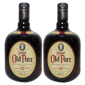 COMBO WHISKY OLD PARR 12 ANOS  1 L - 2 UNIDADES