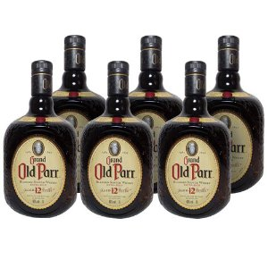 COMBO WHISKY OLD PARR 12 ANOS  1 L - 6 UNIDADES