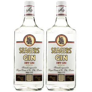 COMBO GIN SEAGERS LONDON DRY 980 ML - 2 UNIDADES