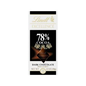 Chocolate Alemão Lind Excellence 78% Cocoa (Dark) - 100 gr