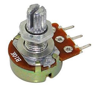 Potenciômetro linear 10K - B10K 15mm