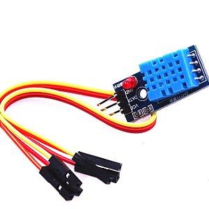 Sensor de Umidade e Temperatura DHT11 com cabo