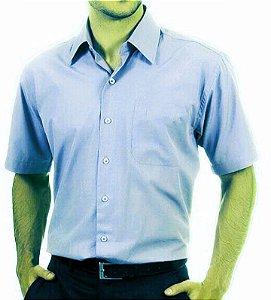 Camisa social manga curta