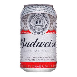 Budweiser lata 350ml
