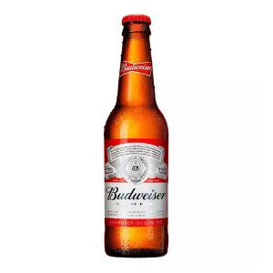 Budweiser long neck 343ML