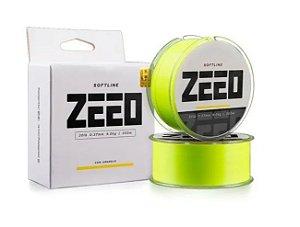Linha Monofilamento Soft Line Zeeo 0,37mm 300m - Amarela