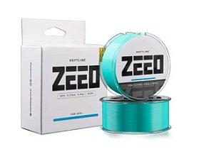 Linha Monofilamento Soft Line Zeeo 0,37mm 300m - Azul