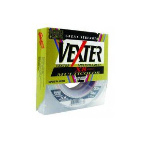 LINHA MULTIFILAMENTO MARINE SPORTS VEXTER X8 300M 30LBS 0,25MM MULTICOLOR