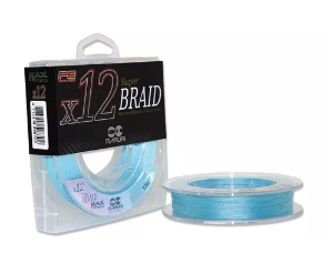 LINHA MULTIFILAMENTO MARURI 12X PE SUPER BRAID 0,50MM 150M