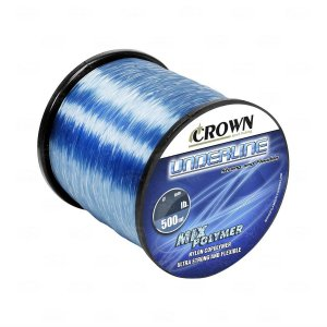 LINHA MONOFILAMENTO CROWN UNDERLINE 0,37MM 500 MTS 25LBS