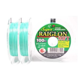 LINHA MONOFILAMENTO MARINE SPORTS SUPER RAIGLON SOFT 100M 0,37MM 22,10 LB