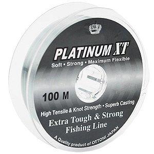 LINHA MONOFILAMENTO OTTONI PLATINUM XT 0,15MM 100 M