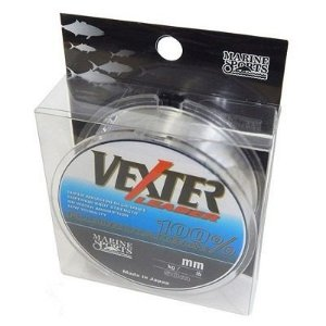 LINHA FLUORCARBONO MARINE SPORTS VEXTER LEADER 0,52MM 50M 33LB
