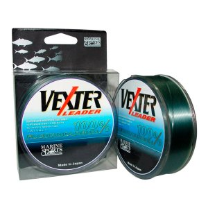 LINHA FLUORCARBONO MARINE SPORTS VEXTER LEADER 0,81MM 50M 77LB