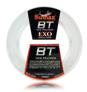LINHA FLUORCARBONO SUMAX LEADER BT-EXO-025 0,25MM 15 LBS 100 MTS