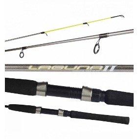 VARA INTEIRA CARRETILHA MARINE SPORTS LAGUNA 2 CAR LA2-C601M 1,83M 10-20LB