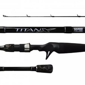 VARA INTEIRA CARRETILHA MARINE SPORTS TITANX TTX-C561ML 5-18G 1,68M 6-14 LBS