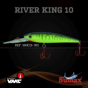 ISCA ARTIFICIAL SUMAX RIVER KING 10MM SRK-10-301