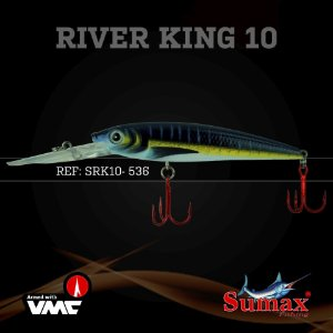 ISCA ARTIFICIAL SUMAX RIVER KING 10MM SRK-10-536