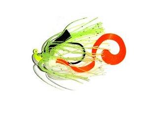 ISCA ARTIFICIAL SUMAX SUPER JIG 21G WHITE GREEN PEC SSJ-3/4-02