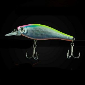 ISCA ARTIFICIAL SUMAX VISION SHAD METALLIC HG,TROPICAL PEC SVS-75-057