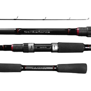 VARA 2 PARTES MOLINETE DAIWA STRIKEFORCE SFS-602MRS-BR 1,83 8-17LBS