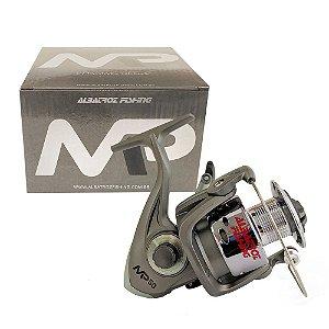 Molinete Albatroz MP 50 5000 3 Rolamentos Pesca Pesada Prata
