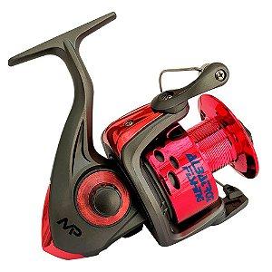 Molinete Albatroz MP 50 5000 3 Rolamentos Pesca Pesada Vermelho